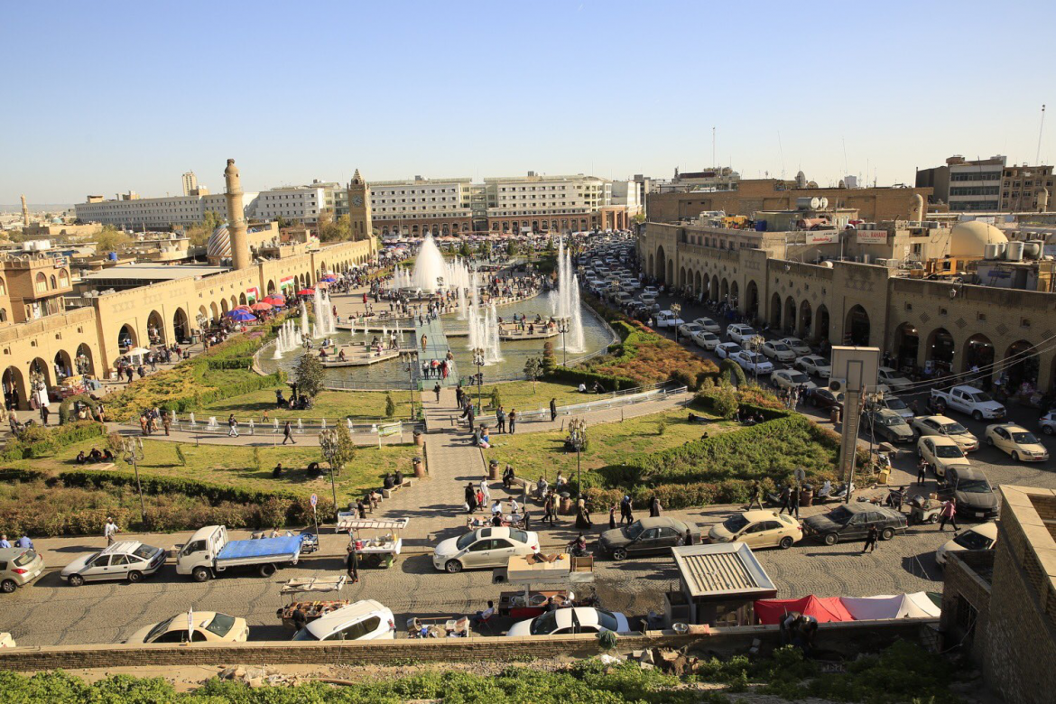 Erbil - capital of Kurdistan